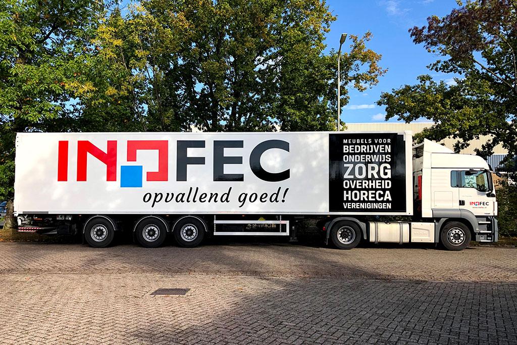 Inofec vrachtwagen